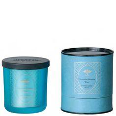 FRÖJD Candle Cucumber blossom water glass light blue