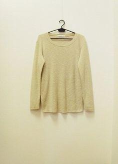 Kup mój przedmiot na #vintedpl http://www.vinted.pl/damska-odziez/dlugie-swetry/18905121-wymiana-50-zl-mango-suit-sweter-z-rozcieciami-bawelna-bezowy-melanz-36-s