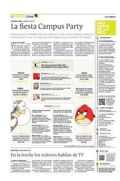 Publicado el miércoles 22 de febrero de 2012
