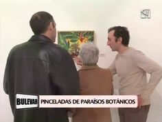 """La exposición de Georges Ward """"Paraísos"""" en el programa Bulevar de Aragón Televisión."""