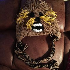Hey, I found this really awesome Etsy listing at https://www.etsy.com/listing/216798631/star-wars-chewbacca-inspired-hat