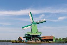 I mulini a vento di Zaanse Schans | PietrofotoGallery Zaanse Schans Windmills, Image Types, Golden Gate Bridge, Wind Turbine, Amsterdam, Travel, Viajes, Destinations, Traveling