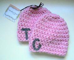newborn twin hat - newborn twin hats - newborn baby hat - twin hats - twin baby hats - twin baby gifts - twin baby hats - twin baby gifts - twin baby girl hats