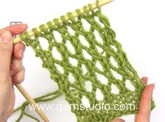 How to knit A.1 in DROPS 159-3