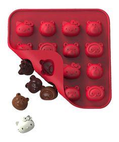 HELLO KITTY Cat Lollipop Chocolate Soap Candy Gummy Mold