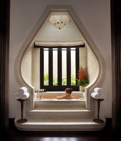 Spa bathroom at InterContinental Danang Resort in Vietnam