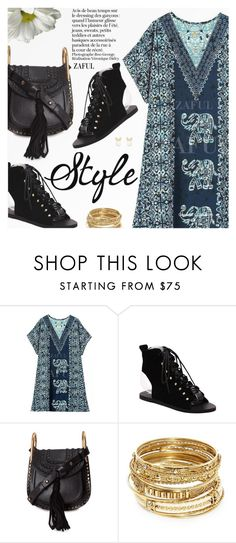 """Boho Style"" by pokadoll ❤ liked on Polyvore featuring Chloé, ABS by Allen Schwartz, Lipsy, polyvoreeditorial, polyvorefashion, polyvoreset and zaful"