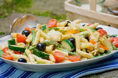 Sicilian Pasta Salad in Recipes on The Food Channel®