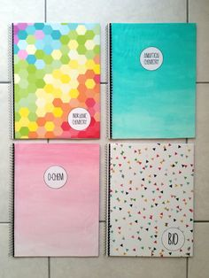 Rockin' Strawberries: DIY Notebooks | Requested (Cool Crafts For Lockers)