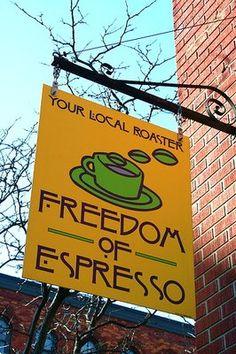 Freedom of Espresso, Syracuse.