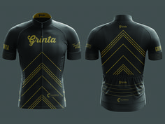 Grinta Cycling Jersey by Kosta Bold
