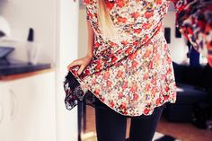 floral #fashion #floral #apparel