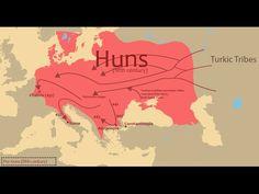 Bildergebnis für empire of attila the hun European History, World History, Ancient History, Attila The Hun, Semitic Languages, Old Maps, Historical Maps, Roman Empire, Middle Ages