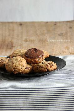 cookies069 cookies au beurre de cacahuète, pépites de chocolat et éclats de caramel
