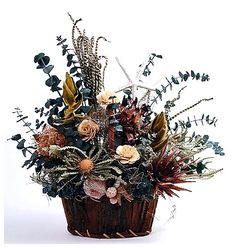cool Astonishing Dried Flower Arrangement