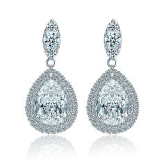 Cheap Wedding Drop Earrings Buy Quality Directly From China Suppliers New Water Luxury Pear