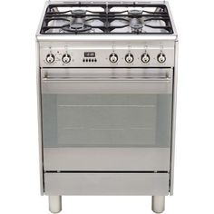 SUK61MX9   Smeg Dual Fuel Cooker   ao.com Old Recipes, Cookbook Recipes, Dual Fuel Cooker, Cast Iron Wok, Electrical Connection, Electric Oven, Roasted Meat, Energy Consumption, Pasta Dishes
