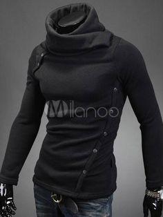 Sudadera con capucha de Desmond de Assassin's Creed de algodón con escote alto - Milanoo.com