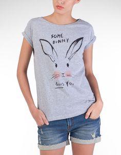 Stradivarius Bunny Shirt