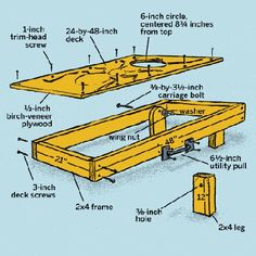 2ft Travel board or 3ft competition board click for instructions to build your own boards!