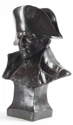 NAPOLEON BONAPARTE Bust of Napoleon Bonaparte.