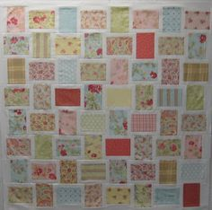 This fun strip quilt can be done quickly.