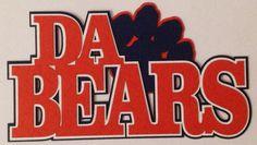 Da Bears Diecut Custom scrapbooking Cardmaking Crop paper scissors and more on Facebook