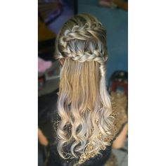 Penteado feito por mim, adorooo trançass