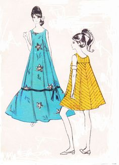 Rare 1960s Polynesian Sewing Pattern 181 Womens Mod by CloesCloset, $28.00