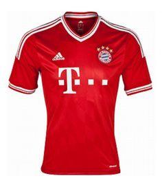 Brand New! Bayern Munchen 2013/13 Home Soccer Shirt - Get it custom made!