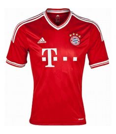 Brand New! Bayern Munchen 2013/13 Home Soccer Shirt - Get it custom made!