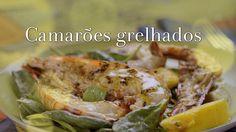 Ingrediente Secreto   Episodios   6/5 Camarão   Gambas grelhadas com Salada de Espinafre, Abacate e Manga com vinagrete de mostarda