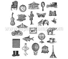 Tiny Things Cling-Mounted Stamp Set