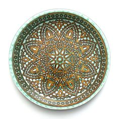 @Overstock - This Divine charger plate set by Arda Glassware features a lovely brown and turquosie oriental design. The set of four 12-inch round charger plates will beautify your table setting with its organic patina paint finish.http://www.overstock.com/Home-Garden/Arda-Glassware-Divine-Brown-Turqouise-12-inch-Charger-Plates-Set-of-4/6585692/product.html?CID=214117 $79.99