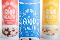 In Good Health is a brand of muesli aimed at your average, middle-class consumer. Nowadays, a lot of people are aiming to be much more conscious of their health, and what they are putting into their bodies. Muesli is a great addition to anyone's day. High…