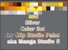 Clip Studio Paint (Manga Studio 5) Color Set by Katarina-Kirishiki.deviantart.com on @DeviantArt
