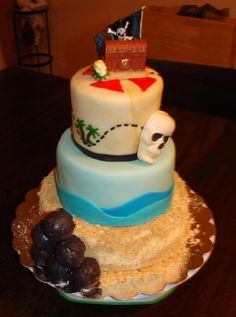 Pirate Cakes - Pirate Birthday Cake