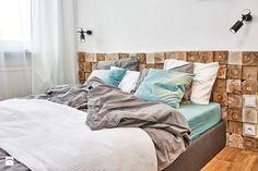 59 m2 na nowo - Sypialnia, styl skandynawski - zdjęcie od LIVING BOX