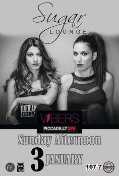 Vibers @ Sugar Lounge στη Βέροια ! ! ! Όλα ξεκίνησαν το 2009 όπου 2 Θεσσαλονικές, η Κική Μποτονάκη και η Σοφία Πασαλή αποφάσισαν να δημιουργήσουν τις VIBERS . Τόπος συνάντησης, το ClubVogue 2009-2013. Απο την έναρξη της σεζον 2013-2014 ξεκίνησε η συνεργασία τους με το The Real RocknRolla και τώρα τις βρίσκεις και στο Piccadilly.