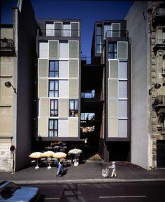26 logements Ourcq pour postiers, Paris 19 (1990-1993) - Philippe Gazeau
