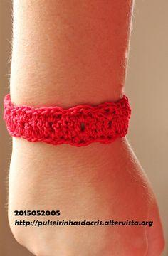Pulseirinha vermelha Brazil, Crochet Necklace, Health, Jewelry, Fashion, Diy Bracelet, Medicinal Plants, Dashboards, Enamels