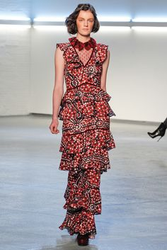 Rodarte Fall 2012 Dress, makes me think of Katherine Hepburn in Philadelphia Story