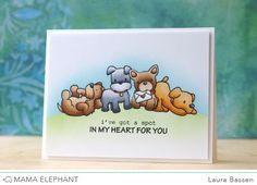 STAMP HIGHLIGHT: PLAYFUL PUPS   mama elephant   design blog   Bloglovin'