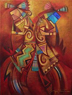 Tony Abeyta  Blue Rain Gallery