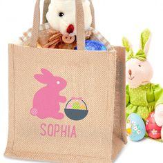 Shop Now! http://www.blueponystyle.com/products/personalised-easter-jute-bag-for-girls-1?utm_campaign=social_autopilot&utm_source=pin&utm_medium=pin #etsymntt #EtsySocial #ESLiving #ebay #ATSocialUK #EpicOnEtsy #etsyretwt #gift #shopifypicks