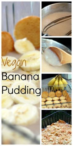 Pudding Vegan Banana Pudding with vegan vanilla pudding recipe! [more at /eventsbygab]Vegan Banana Pudding with vegan vanilla pudding recipe! [more at /eventsbygab] Vegan Banana Pudding, Vanilla Pudding Recipes, Homemade Vanilla Pudding, Vegan Treats, Vegan Foods, Vegan Dishes, Vegan Dessert Recipes, Whole Food Recipes, Cooking Recipes