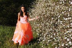 Color me Orange Cute Dresses, Casual Dresses, Prom Dresses, Formal Dresses, Top Y Pollera, Dress Bra, Winter Formal, Popular Dresses, Fancy Party