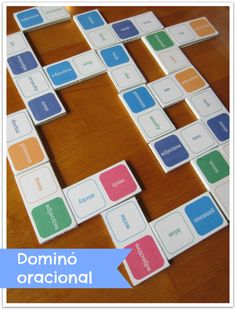 Relentlessly Fun, Deceptively Educational: Word Dominoes [Practicing Parts of Speech] Free Printable Language Arts Games, Teaching Language Arts, Language Activities, Speech And Language, Grammar Games, Teaching Grammar, Teaching Reading, Teaching English, Parts Of Speech Games