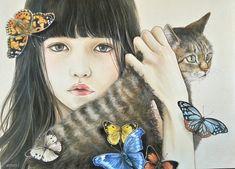 おちょぴ | 春を待つひと | thisisgallery | 好きなアーティストが見つかるアート購入・販売サイト