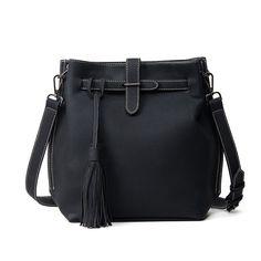 2017 Women Crossbody Bag Fashion Tassel Bucket Big Women Messenger Bags Casual Vintage Bag bolsa feminina Women's Handbags sac